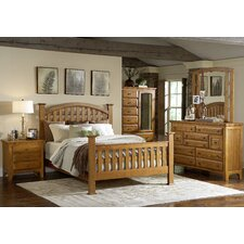 <strong>Mastercraft Collections</strong> Retreat California King Slat Bedroom Collection