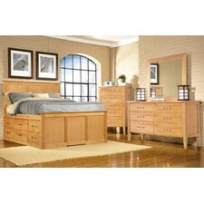 Urban Homemaker California King Storage Panel Bedroom Collection