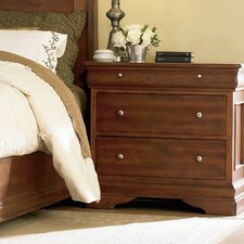 <strong>Mastercraft Collections</strong> Paris Classic 3 Drawer Nightstand