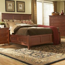 <strong>Mastercraft Collections</strong> Simply Shaker Storage Panel Bed