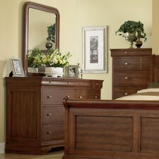 <strong>Mastercraft Collections</strong> Paris Classic 8 Drawer Dresser
