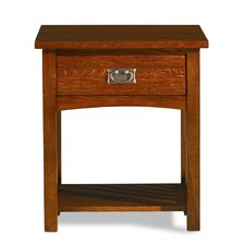 Prairie Mission 1 Drawer Nightstand