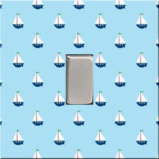 Litte Sail Boat Switch Cover