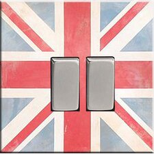 Union Jack Vintage Switch Cover