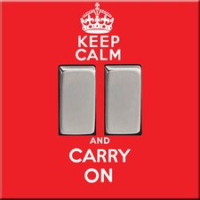 Keep Calm and Carry Switch Cover