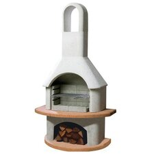 Carmen Masonry Barbecue Fireplace
