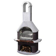 St Moritz Masonry Barbecue Fireplace