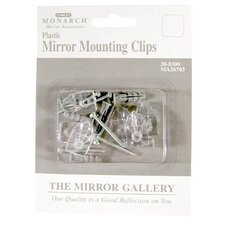 <strong>Home Decor Inc.</strong> Plastic Mirror Mounting Clip 6 Pack