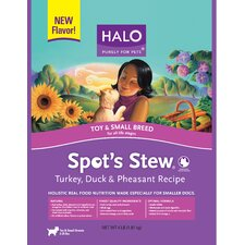 Spot's Stew Small Breed Turkey, Duck and Pheasant Dry Dog Food (4 lbs Bag)