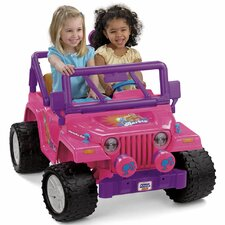 Power Wheels Barbie Jammin Battery Powered Jeep