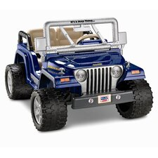 Power Wheels Wrangler Rubicon 12V Battery Powered Jeep