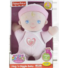 "<strong>Fisher-Price</strong> ""Brilliant Basics"" Hug and Giggle Baby"