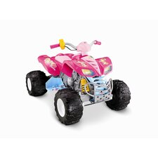 Barbie Kawasaki KFX 12V Battery Powered ATV with Monster Traction