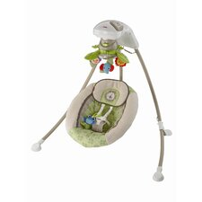Rainforest Friends Deluxe Cradle 'n Swing