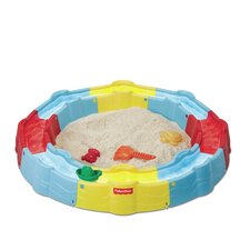 <strong>Fisher-Price</strong> N Play Build-a-Box 3' Round Sandbox with Cover