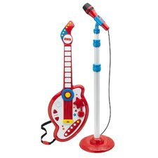 Rock Star Guitar and Microphone Set