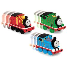 <strong>Fisher-Price</strong> Thomas Pull Back Train Vehicle Set