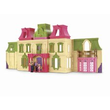 Loving Family Dream Dollhouse with Caucasian Family