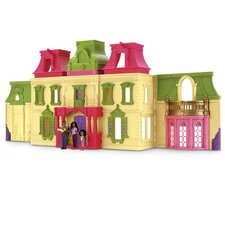 Loving Family Dream Dollhouse with African-American Family