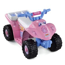 Power Wheels Disney Princess Lil' Quad 6V Battery Powered ATV