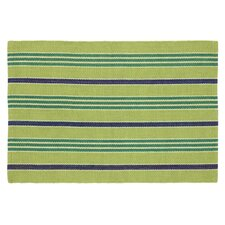 Fiesta Lime Striped Indoor/Outdoor Area Rug