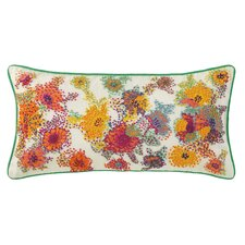 French Knot Floral Cotton Pillow