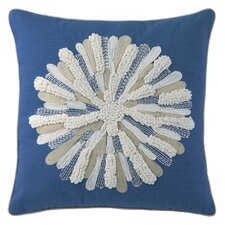 Asters Cotton Pillow
