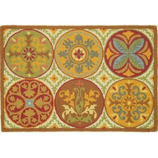 Stepping Stones Spice Rug