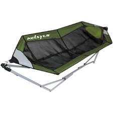 Lay Portable Hammock in Green Mesh
