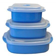Calypso Basics 3 Piece Microwave Container Set