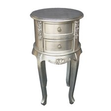 Dauphine Round Bedside Table