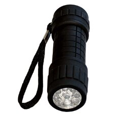 9 Led Rubberised Torch