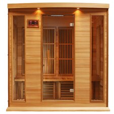 4 Person Carbon FAR Infrared Sauna