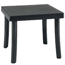 Rodi Square Plastic and Resin Side Table