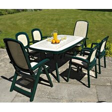 Toscana 7 Piece Rectangular Dining Set