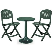 Tucano 3 Piece Round Dining Set