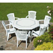 Olimpo 7 Piece Octagonal Dining Set