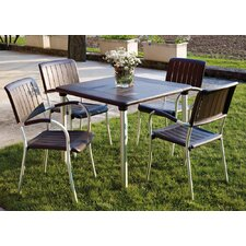 Maestrale 90cm Table Set in Coffee