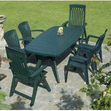 Toscana 165cm Garden Dining Set