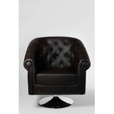 "Lounger drehbar ""Chesterfield"" in Braun"