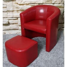 "Sessel ""M37"" in Rot"