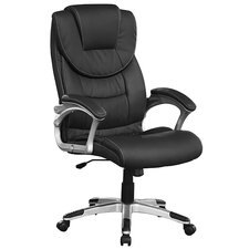 "Design Chefsessel ""A08"" in Schwarz"