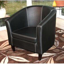 "Lounge-Sessel ""Valence"" in Schwarz"
