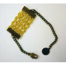 Rachel Paula Gold Lace Bracelet