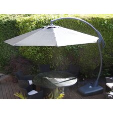 Amalfi Elevated 3m Parasol and Base Set