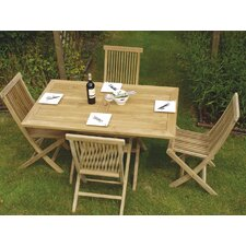 Colorado 5 Piece Rectangular Dining Set