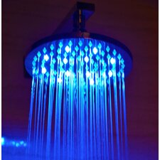 "<strong>Alfi Brand</strong> 8"" Round LED Rain Shower Head"