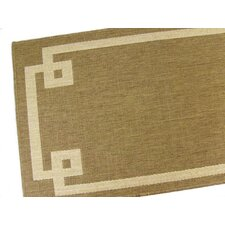 Borderline Chocolate Indoor/Outdoor Rug