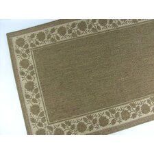 Summer Vine Chocolate Indoor/Outdoor Rug