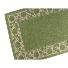 Summer Vine Emerald Indoor/Outdoor Rug